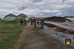 Großbrand in Großkayna am 04.07.2017