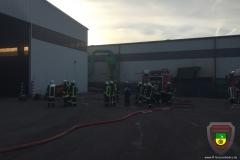Lagerhallenbrand in Krumpa 24.12.2015